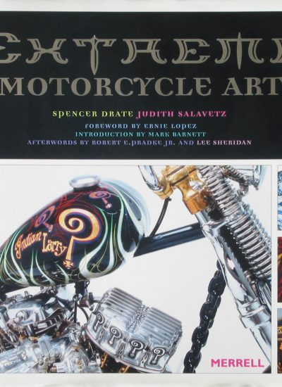 Extreme Motorcycle art book cover