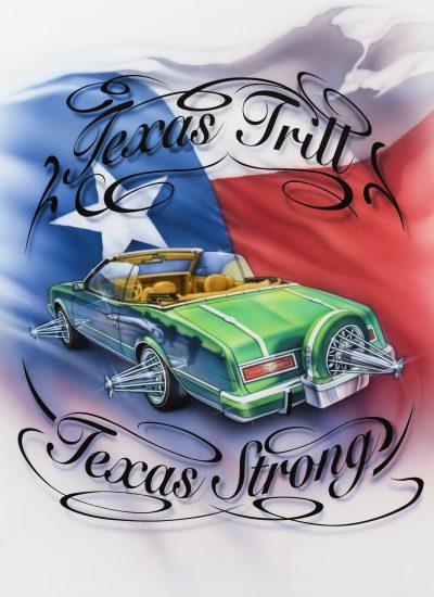 Texas Trill T-shirt design - Pastrana.Unlimited