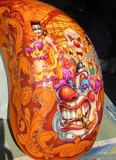 106. Clown rear fender