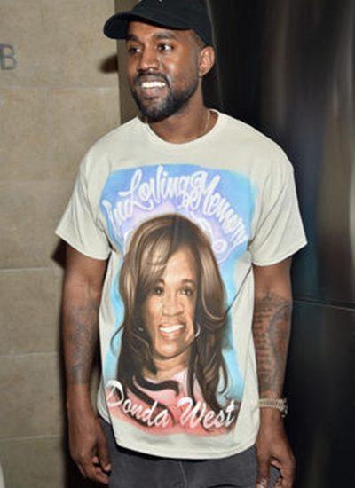 Kanye and Donda tribute shirt