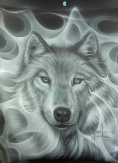 11. Wolf portrait