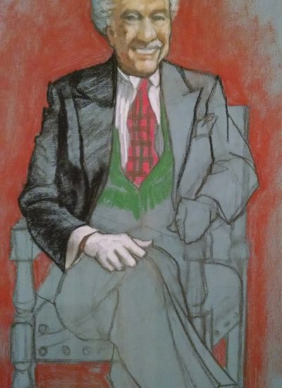 12. lifedraw gentleman sitting pastel