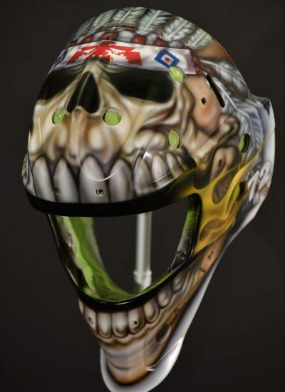 13. Hockey Helmets