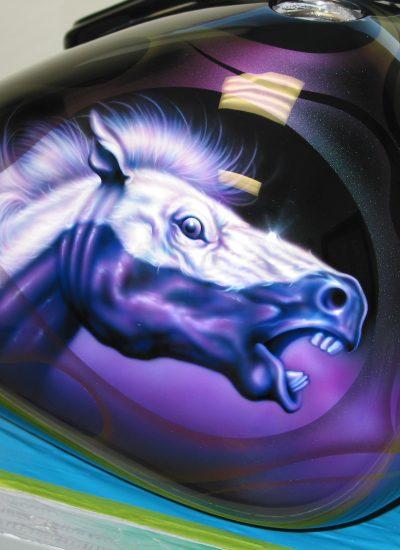132. Boss Hoss horse