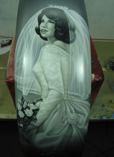 136. Bride portrait