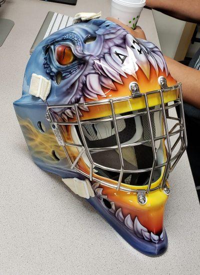 14. Hockey masks