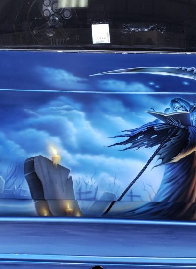 14. Reaper graveyard scene