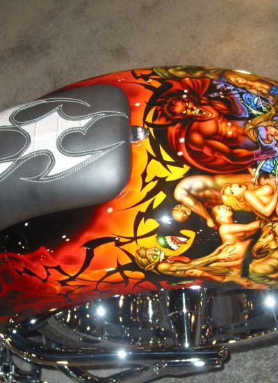 144. Demon paint