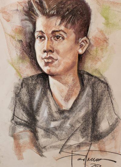 15. lifedraw boy pastel