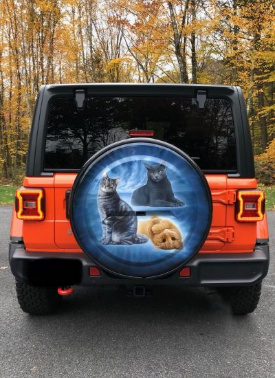 19. Cats wheel cover