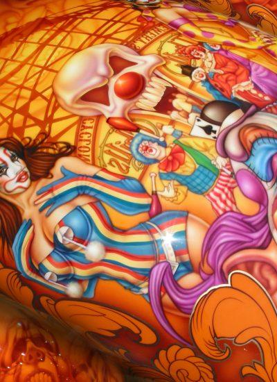 19. Clown bike