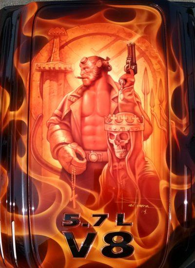 2. Hellboy art