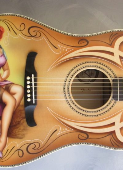 2. Ovation Pin-up guitar