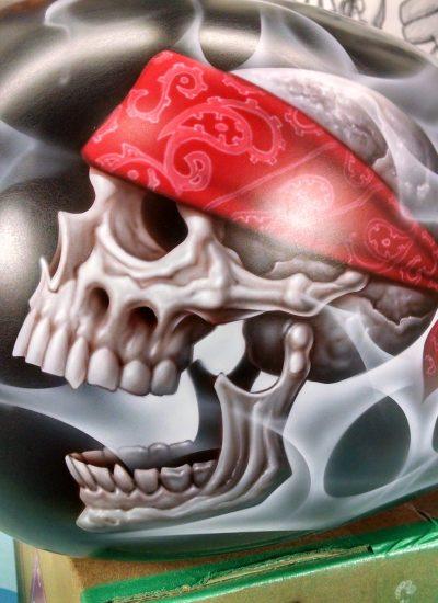 2. Skull Harley Tank