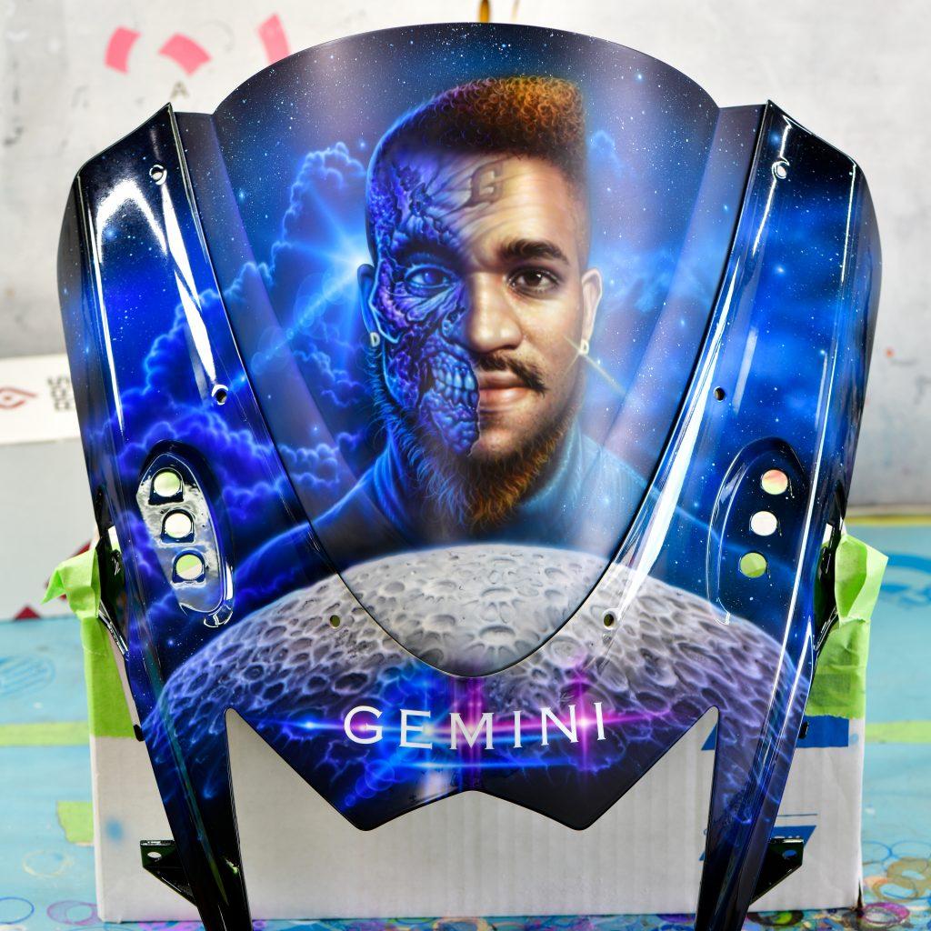 Gemini portrait Pastrana.Unlimited