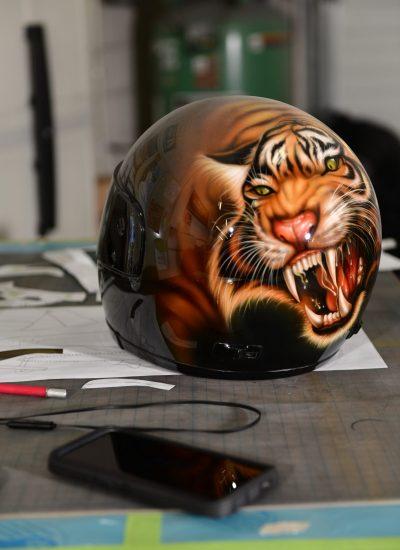 21. Tiger Helmet