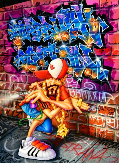 Hip Hop inspired DVD cover art for AA - Pastrana.Unlimited