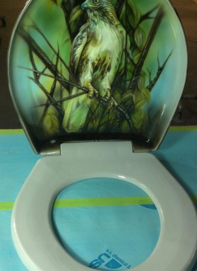 23. Toilet artwork
