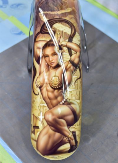 24. Warrior girl front fender