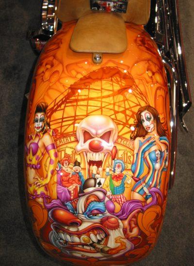 26. Clown bike
