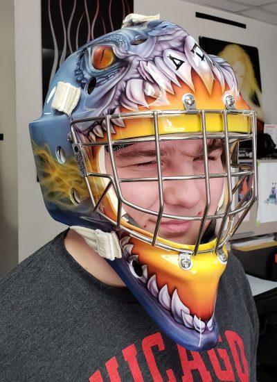 26. Hockey mask