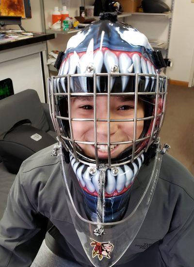 27. Goalie mask
