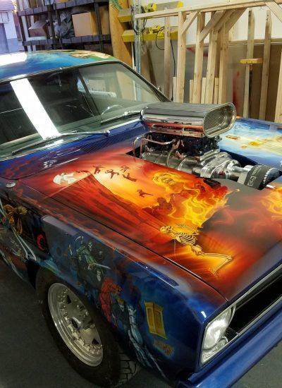 31. Duster paint
