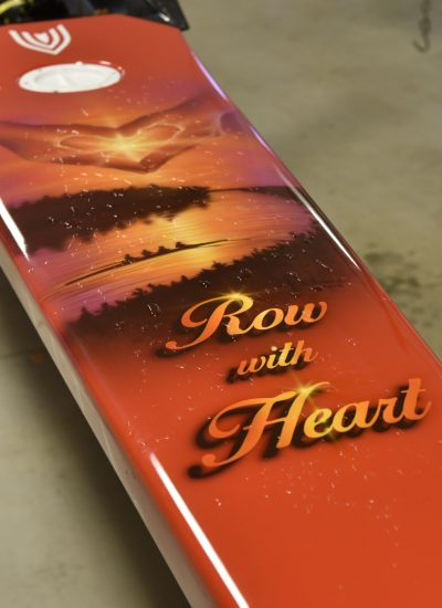 32. Row with heart