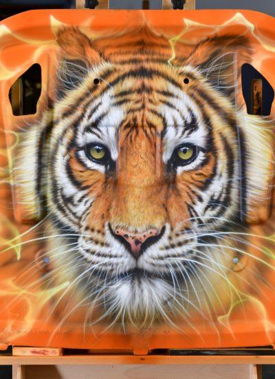 33. Tiger on Hoodliner