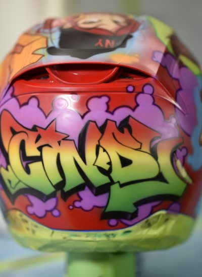 35. Graff helmet