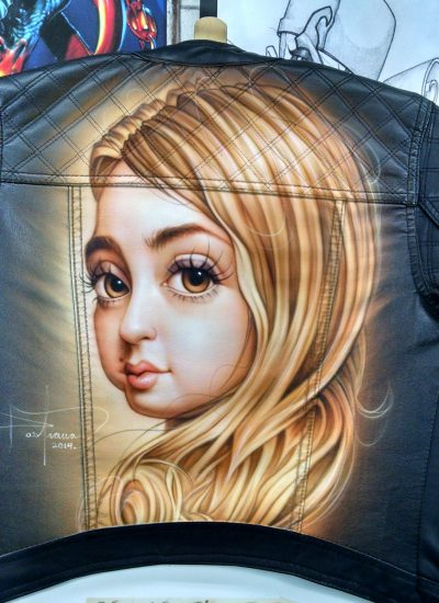 36. Characture on jacket