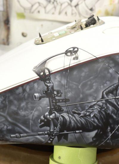 40. Deer Hunter paint