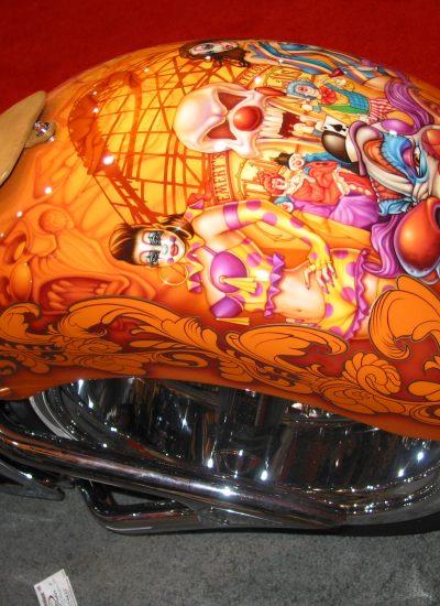 41. Clown bike rear