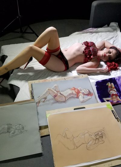 42. Live Figure Drawing Sessions