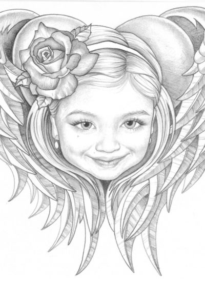 43. sketch for Tattoo pencil