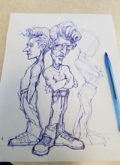46. jury duty sketch pen