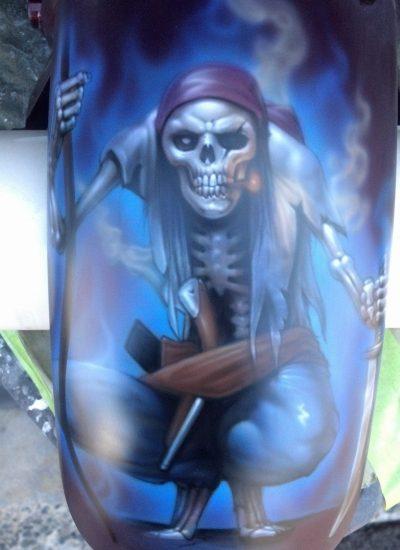 5. Pirate skull