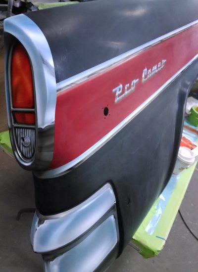 61. drag car panels