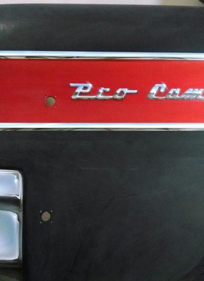 62. Drag car panel