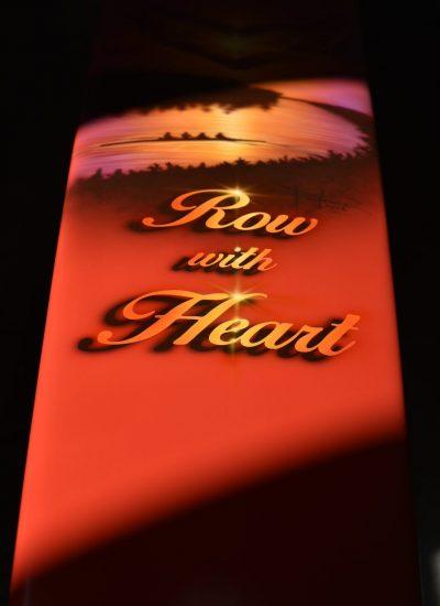 64. row with heart