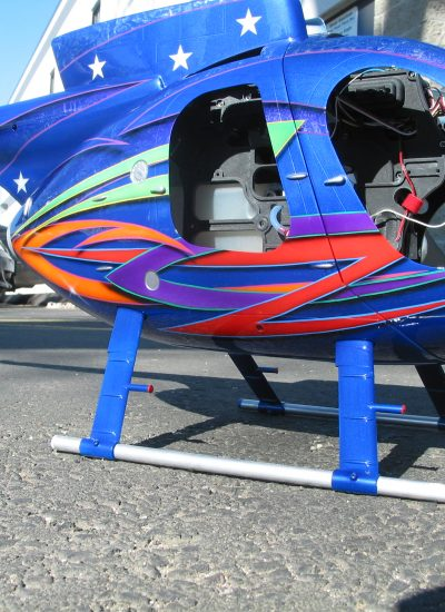 68. Helicopter paint