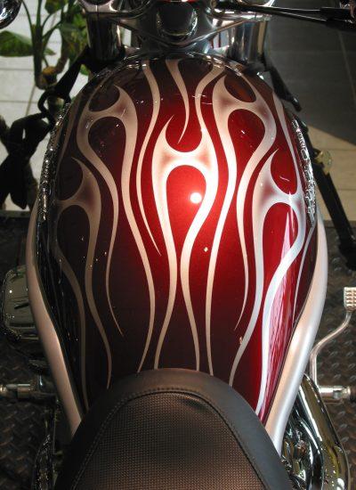 7. tribal flames