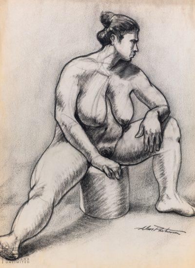70. lifedraw girl sitting