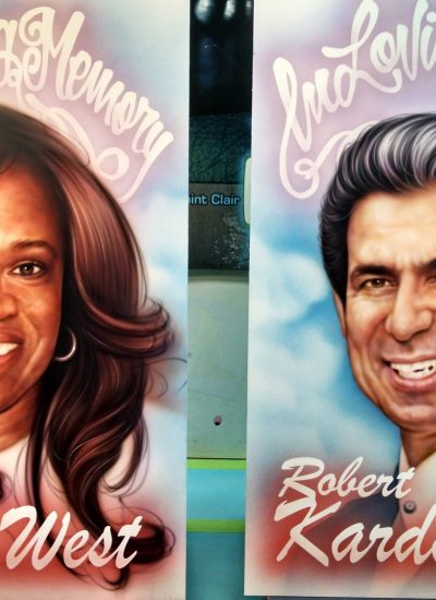 Donda and Robert finished art