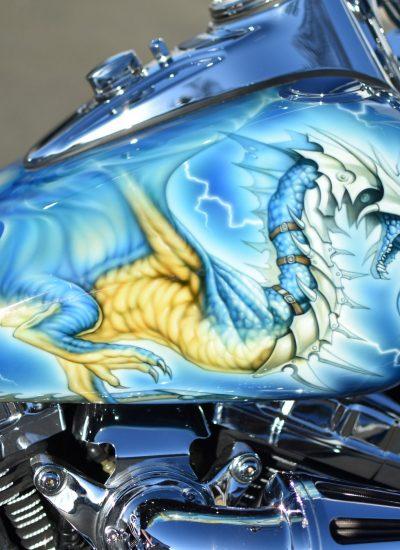 8. Dragon on Harley