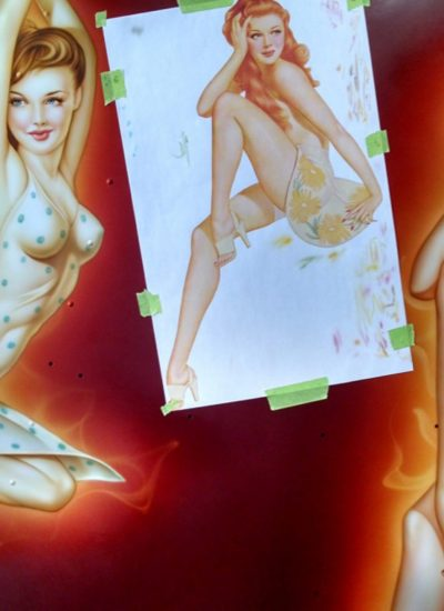 8. Helicopter pin ups