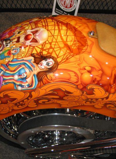 80. Clown rear fender