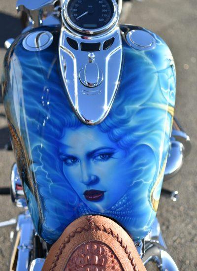 81. Harley girl tank