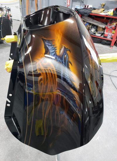 84. Dragons RD Glide fairing