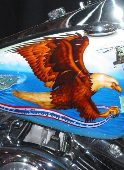 86. Navy bike